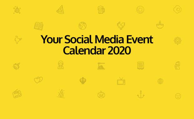 Social Media Event Calendar