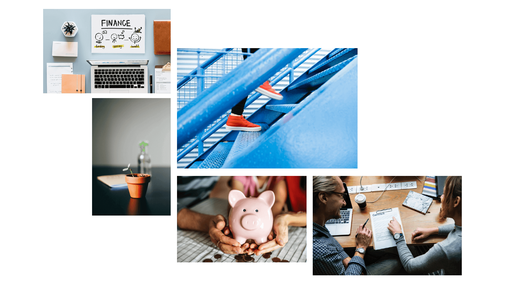 Moodboard for StepUp Investments